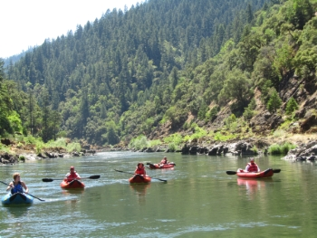 Rogue River Inflatable Kayak Rentals